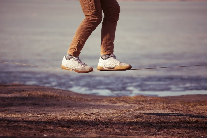 Walking the Parenting Tightrope