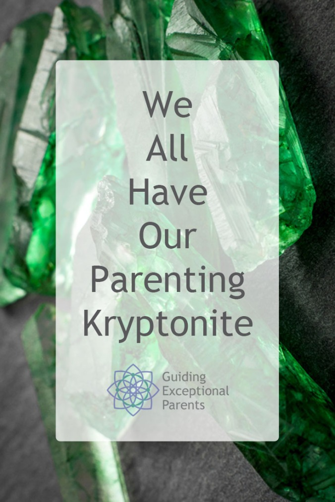 What parenting triggers cause you anger? All parents have our kryptonite. When we recognize the triggers, we can learn to manage them so we don't inadvertently hurt our children.